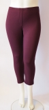 7/8 Leggin in bordeaux